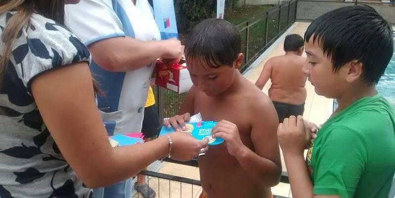 SENDA Previene Padre Las Casas potencia mensaje de prevención en niños del sector San Ramón