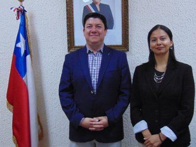 Directora Regional de Senda y Gobernador de Limarí coordinan trabajo conjunto