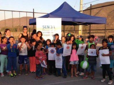 SENDA Previene de Coquimbo difunde campaña de verano en sector Punta Mira Sur