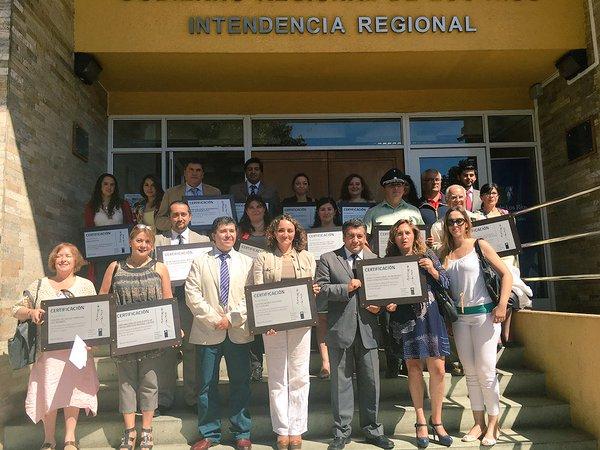 SENDA Los Ríos certificó a 17 organizaciones que promueven la prevención entre sus trabajadores