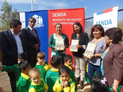 Jardines infantiles reciben material de programa Descubriendo el Gran Tesoro