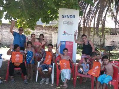La Cisterna cierra campaña de verano con tarde recreativa en piscina comunal