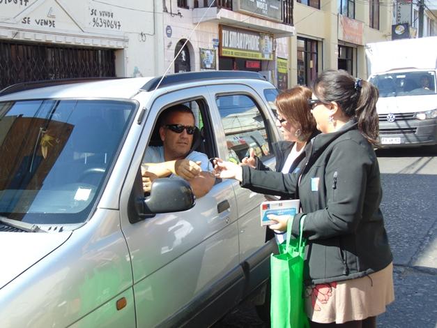En la región de Coquimbo tomaron conciencia al volante