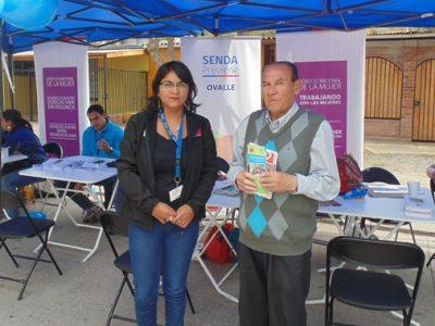 Vecinos de población Villalón reciben orientación en materia preventiva