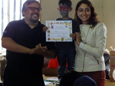 En Alerce y Mirasol finalizaron ciclo de talleres preventivos de SENDA