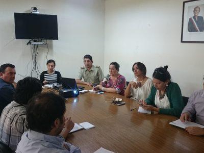 Empresarios y profesionales de Pudahuel conocen políticas preventivas