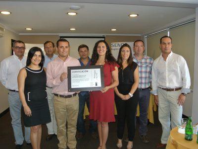 SENDA reconoció a Teck Quebrada Blanca por avances en la implementación del programa Trabajar con Calidad de Vida