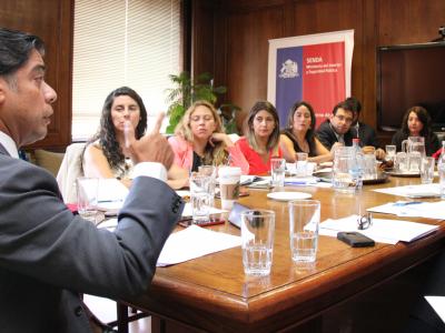 Director Nacional de SENDA encabezó reunión de trabajo con directores regionales