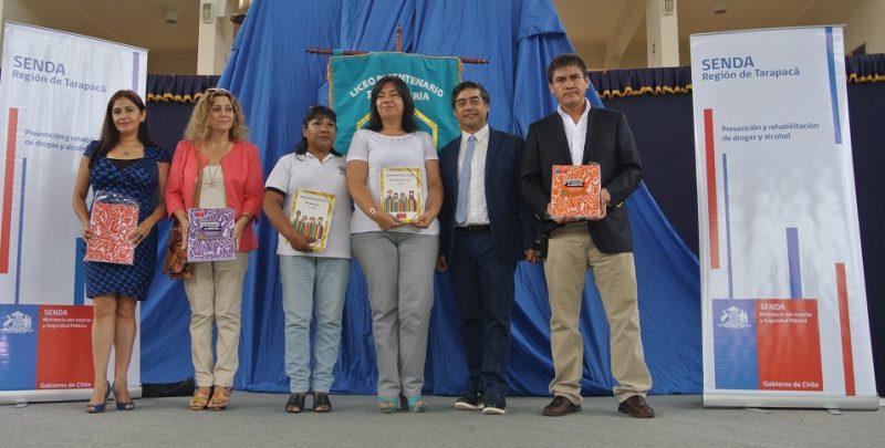 Director de SENDA presentó nuevos programas preventivos para escolares en visita a Región de Tarapacá