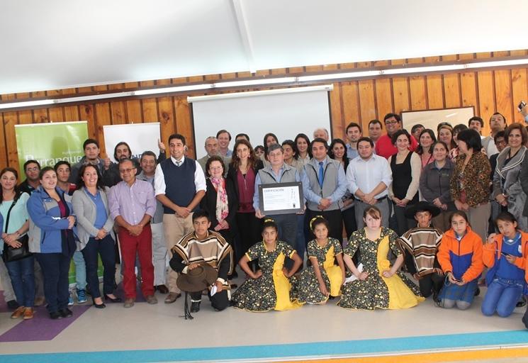 Municipalidad de Purranque recibió certificación de programa Trabajar con Calidad de Vida de SENDA