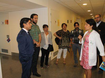 Director de SENDA visita programa ambulatorio para mujeres embarazadas