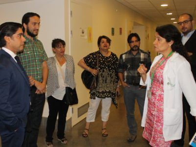 Director de SENDA visita programa ambulatorio para mujeres embarazadas de Maipú