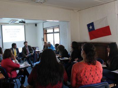 SENDA Los Ríos realizó Primera Mesa Regional de Integración Social