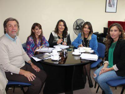 SENDA Araucanía se reúne con SENAME para coordinar trabajo 2016