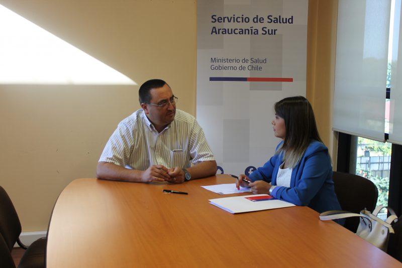 SENDA Araucanía y Servicio de Salud Araucanía Sur potencian alianza de trabajo