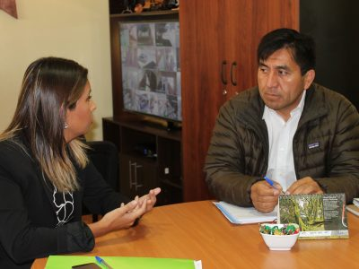 SENDA Araucanía visita Municipalidad de Cholchol