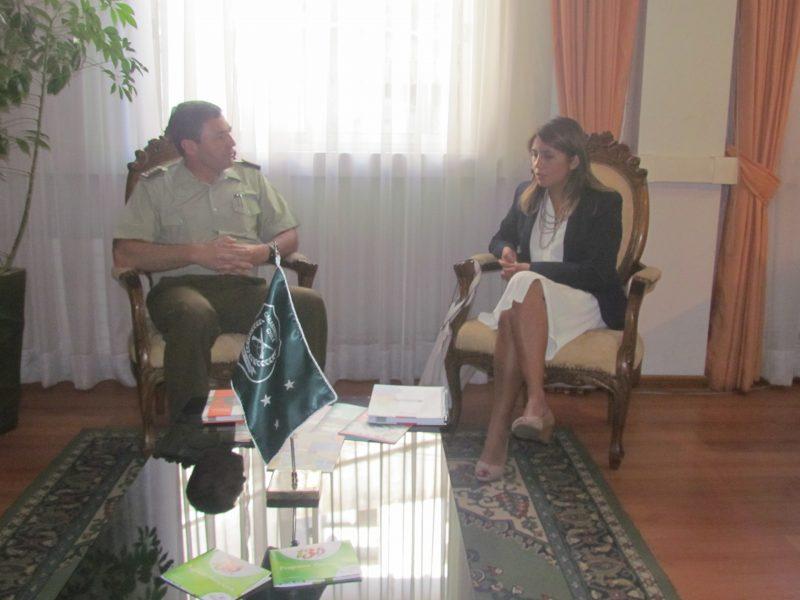SENDA Araucanía coordina controles preventivos 2016 con Carabineros de Chile