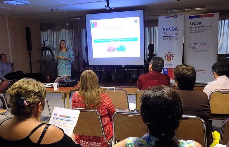 """SENDA capacita a vecinos para llegar a ser """"agentes preventivos comunitarios"""""""