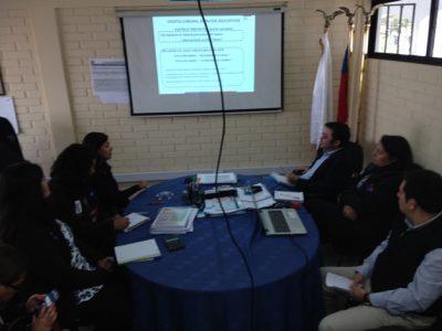 Coordinan trabajo preventivo en colegios de Coquimbo