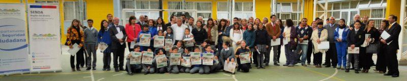18 colegios de San Pedro de la Paz firmaron protocolo para prevención de drogas y alcohol