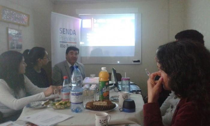 SENDA Previene Río Bueno realizó primera Mesa Técnica de Tratamiento del año