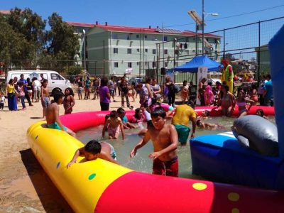 Senda Valparaíso despide Campaña de Verano en una calurosa jornada junto a vecinos de Rodelillo