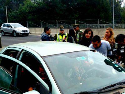 Senda, Carabineros y Conaset hacen llamado a la Responsabilidad durante este fin de semana largo en Valparaíso