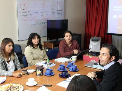 Programa «Actuar a Tiempo» fue difundido a coordinadores SENDA Previene de la Araucanía