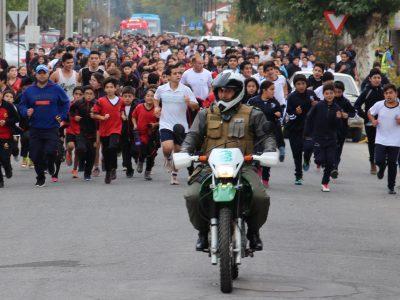 Senda y Municipalidad de Peralillo organizan corrida formativa con Sebastían Keitel