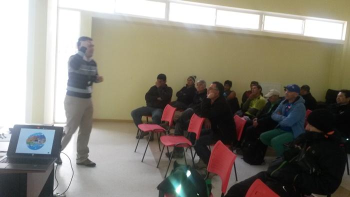 Comienzan talleres con funcionarios municipales de Monte Patria