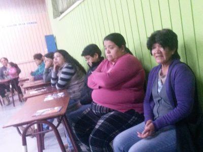 Vecinos debaten sobre temas de seguridad en la Villa El Palqui