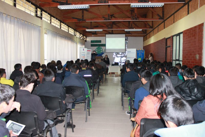 SENDA Araucanía, PDI, Gobernación de Cautín y Subsecretaría de Prevención del Delito realizaron taller preventivo de consumo de drogas en Temuco