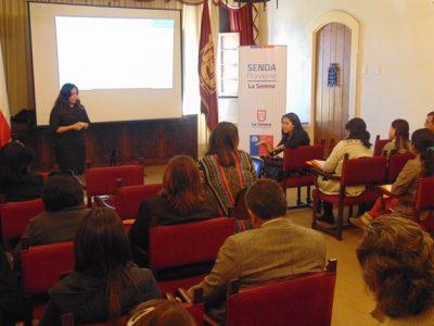 SENDA Colina promovió campaña para prevenir accidentes por alcohol