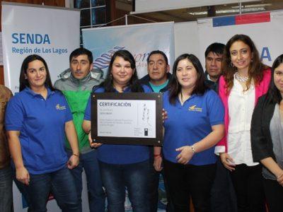 Empresa Servomar de Ancud fue certificada por participación en programa Trabajar con Calidad de Vida