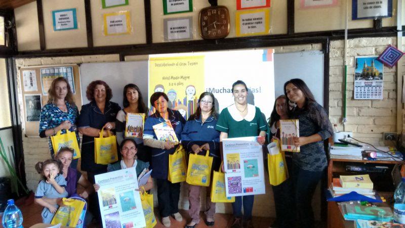 """Colegio Municipal """"Huallilén"""" de Coinco se capacita en el Programa Descubriendo el Gran Tesoro"""