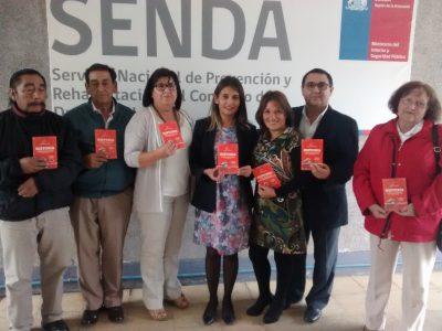 Consejo Consultivo de la sociedad civil de SENDA Araucanía asume labor de liderazgo con la comunidad