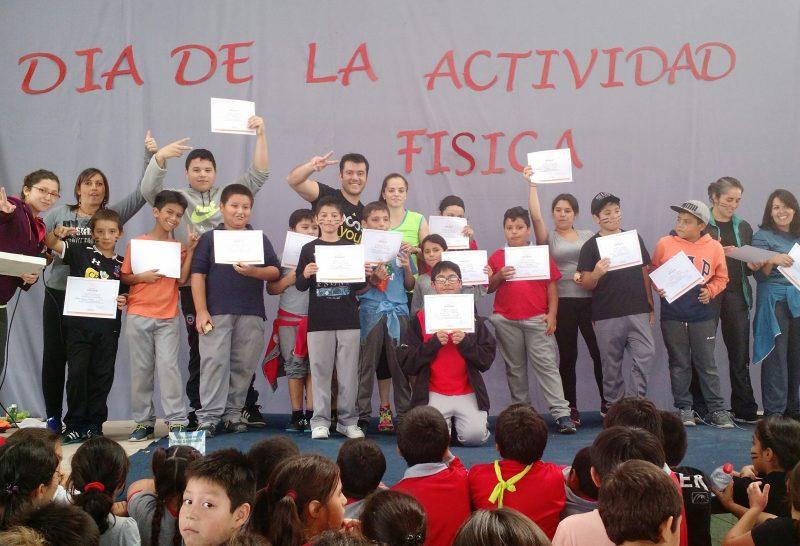 SENDA Rancagua y Colegio Interamericano celebraron el Día Internacional de la Actividad Física.