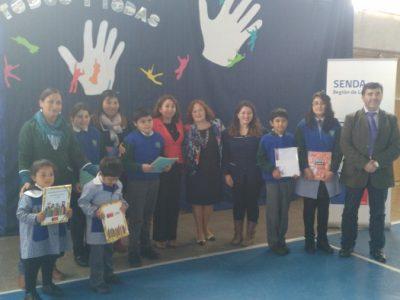 Más de 50 mil estudiantes en Los Ríos serán beneficiados con programas preventivos de SENDA