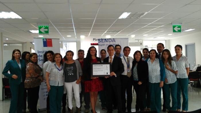 SENDA certifica a IPS como espacio laboral preventivo del consumo de drogas y alcohol