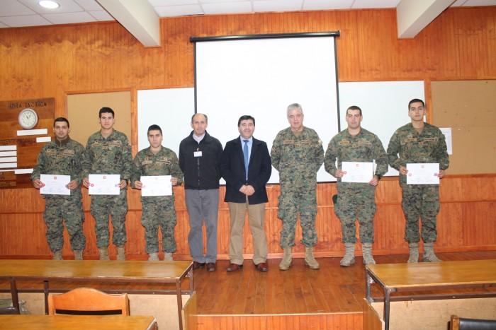 16 oficiales del Ejército recibieron certificación como monitores preventivos de drogas