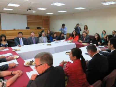 Realizan conversatorio sobre Tribunales de Tratamiento de Drogas en Tarapacá