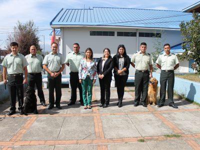 SENDA Araucanía y Gendarmería de Chile establecen acuerdo de trabajo conjunto