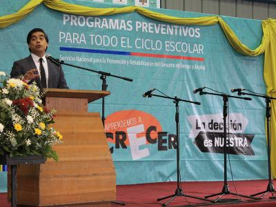 Más de 800 establecimientos de la Araucanía accederán a nuevos programas preventivos de SENDA