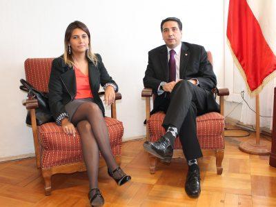 Directora Regional de SENDA Araucanía coordina actividades 2016 con PDI Temuco