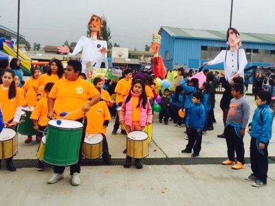En el día de la Convivencia Escolar lanzan material de prevención para establecimientos educacionales de SENDA en Quillota