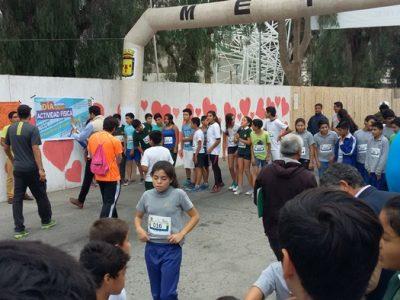 Previene Vicuña participa en celebración del Día de la Actividad Física