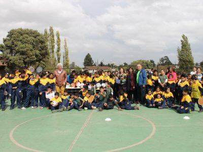 SENDA Araucanía se suma a día mundial del deporte potenciando mensaje preventivo
