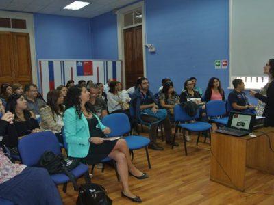 Capacitan a funcionarios regionales y comunales de SENDA en temáticas preventivas
