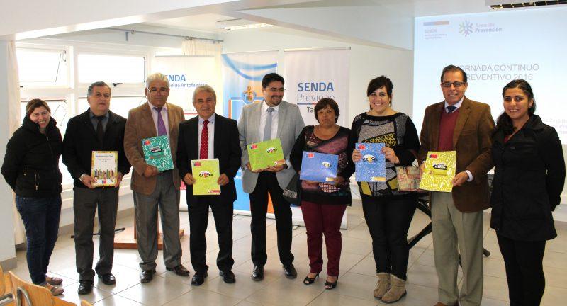 COLEGIOS DE TALTAL IMPLEMENTARÁN PROGRAMA DE PREVENCIÓN DE ALCOHOL Y DROGAS