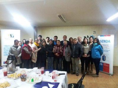 """SENDA Previene Futrono finalizó proyecto """"Actuar en el Territorio, Prevenir en la Comunidad"""" implementado en localidad de Nontuelá"""